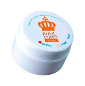 Gel Reconstrutor De Unhas Nail Queen Clear 15Ml