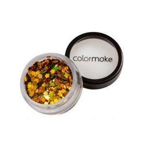 Glitter Colormake Holografico Flor Ouro 2911