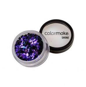 Glitter Colormake Shine Diamante 3D Roxo 2939
