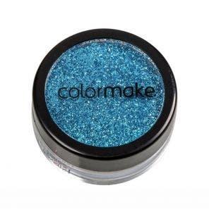Glitter Em Po Para Unhas Colormake Azul Claro 4G