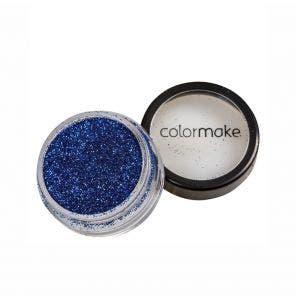 Glitter Em Po Para Unhas Colormake Azul Escuro 4G