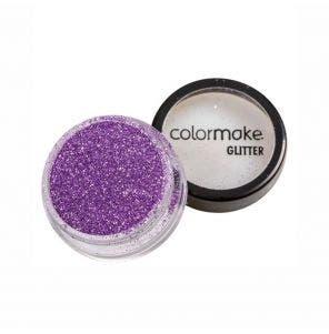 Glitter Em Po Para Unhas Colormake Lilas 4G