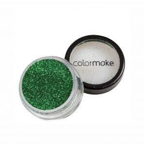 Glitter Em Po Para Unhas Colormake Verde 4G