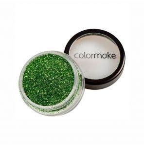 Glitter Em Po Para Unhas Colormake Verde Claro 4G