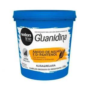 Guanidina Amido De Milho E D-Pantenol Super Salon Line 218G