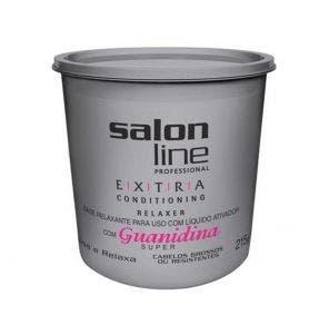 Guanidina Extra Conditioning Relaxer Alisa E Relaxa Salon Line 215G