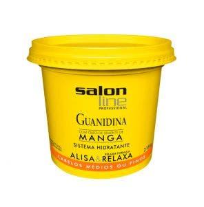 Guanidina Óleo Semente De Manga Alisa E Relaxa Salon Line 218G