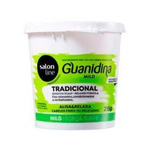 Guanidina Tradicional Mild Alisa E Relaxa Salon Line 215G