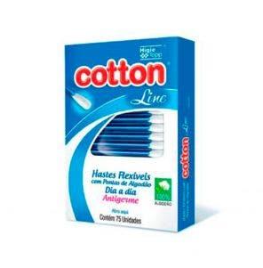 Hastes Flexíveis Cotton Line Prom Visor c/75un