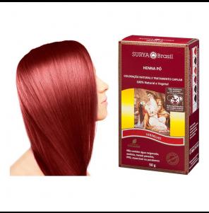 Henna Surya Indian Vermelho 50g