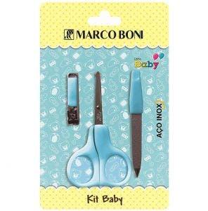 Kit Manicure Infantil 3 Pcs Blue Line 6197