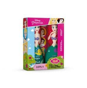 Kit Shampoo 250ml + Condicionador 250ml Infantil Impala Princesas Ariel