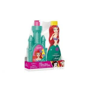 Kit Shampoo 400 ml + Condicionador 250 ml Infantil Impala Princesa Ariel