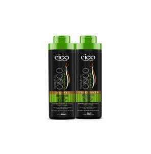 Kit Shampoo + Condicionador Eico Óleo De Coco 800ml