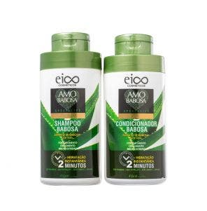 Kit Shampoo + Condicionador Eico Amo Babosa Especialite 450ml
