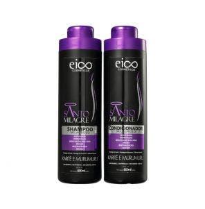 Kit Shampoo + Condicionador Eico Santo Milagre 800ml