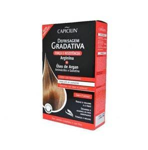Kit De Defrisagem Gradativa Capicilin Arginina