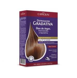 Kit De Defrisagem Gradativa Capicilin Oleo De Argan