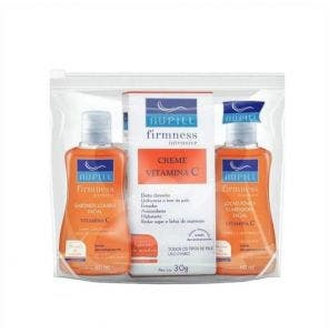 Kit Nupill Travel Sabonete + Loção Clareadora + Creme Vitamina C
