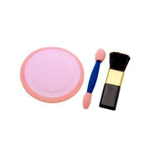 Kit Pincel De Maquiagem Santa Clara 210 Esponja Aplic Sombra