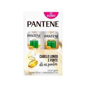 Kit Shampoo com 350ml + Condicionador com 175ml Pantene Restauração