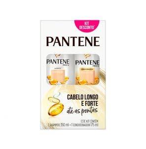 Kit Pantene Shampoo 350ml e Condicionador Hidratação 175ml