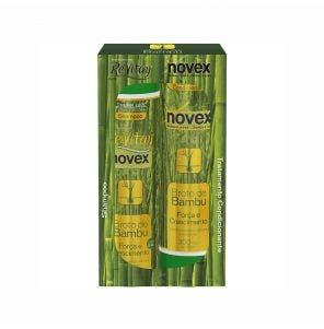 Kit Shampoo E Condicionador Novex Revitay Broto De Bambu