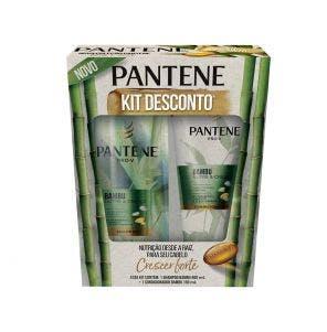 Kit Pantene Bambu com 1 Shampoo de 400ml + 1 Condicionador de 150ml