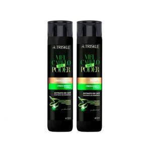Kit Shampoo Condicionador Triskle Meu Cabelo Meu Poder 800ml
