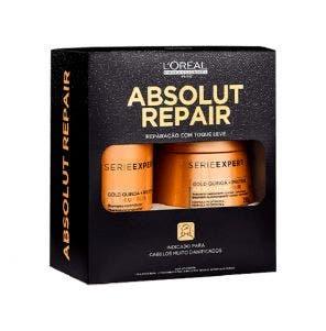 Kit Shampoo Mascara Loreal Profissional Absolut Repair
