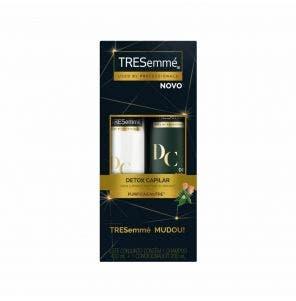 Kit Shampoo 400ml E Condicionador 200ml Tresemme Detox