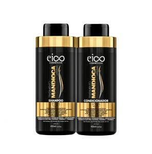 Kit Shampoo + Condicionador Eico Tratamento Mandioca 450ml