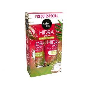 Kit Shampoo + Condicionador Salon Line Hidra Coco 300ml