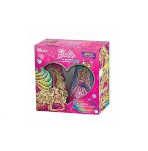 Kit Shampoo + Condiconador Ricca Barbie Cachos Reinos Mágicos 250ml