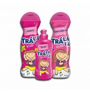 Kit Shampoo E Condicionador Infantil Tra La La Kids Hidrakids Com Brinde Gratis