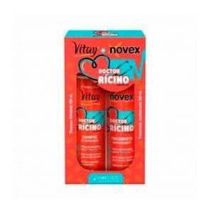 Kit Shampoo E Condicionador Novex Doctor Ricino