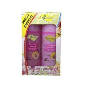 Kit Shampoo E Condicionador Tok Bothanico Ceramidas 500Ml