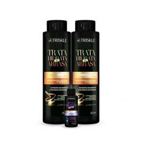 Kit Shampoo E Condicionador Triskle Hidrata E Arrasa 1660Ml