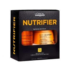 Kit Shampoo Mascara Loreal Profissional Nutrifier