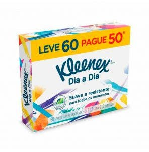 Lenço De Papel Kleenex Kids - Leve 60 Pague 50