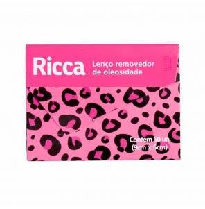 Folhas Removedoras De Oleosidade Ricca c/50un