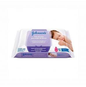 Lenço Umedecido Johnsons Baby Hora Do Sono C/ 48Un