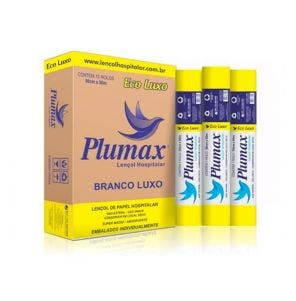 Lencol Hospitalar Plumax Eco Luxo 70Cmx50M