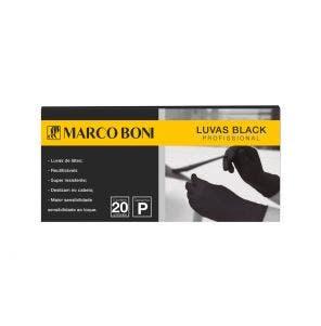 Luva Marco Boni Black Com 20un P
