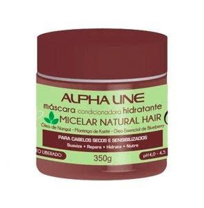 Máscara De Hidratação Alpha Line Micelar Natural Hair 350G
