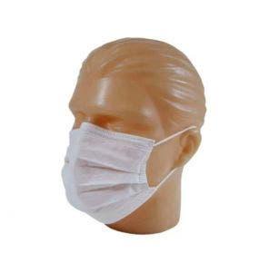 Máscara Descartável Volk Dupla Com Elástico C/100un