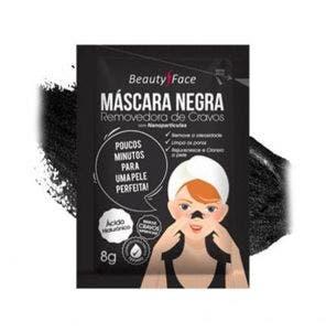 Máscara Facial Beauty Face Negra 8g