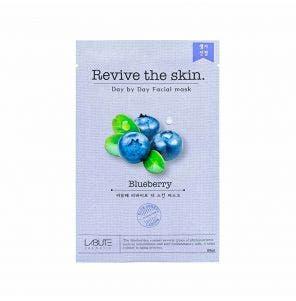 Máscara Facial Coreana Nohj Skin Revive The Skin Blueberry