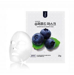 Máscara Facial Coreana Nohj Skin Super Food Blueberry