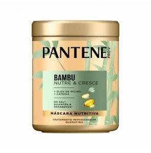 Máscara De Tratamento Pantene Bambu 600Ml